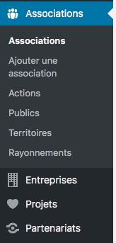 Des types de contenus sur-mesure