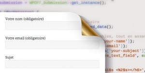 Traiter les données d'un formulaire Contact Form 7 WordPress