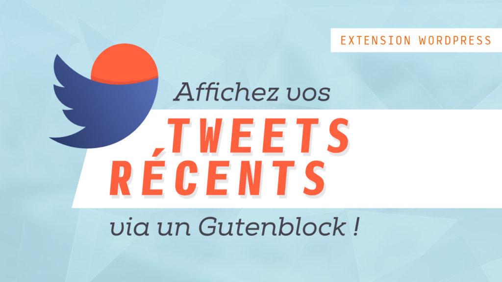 Afficher les derniers tweets d'un compte Twitter sur un site WordPress 1