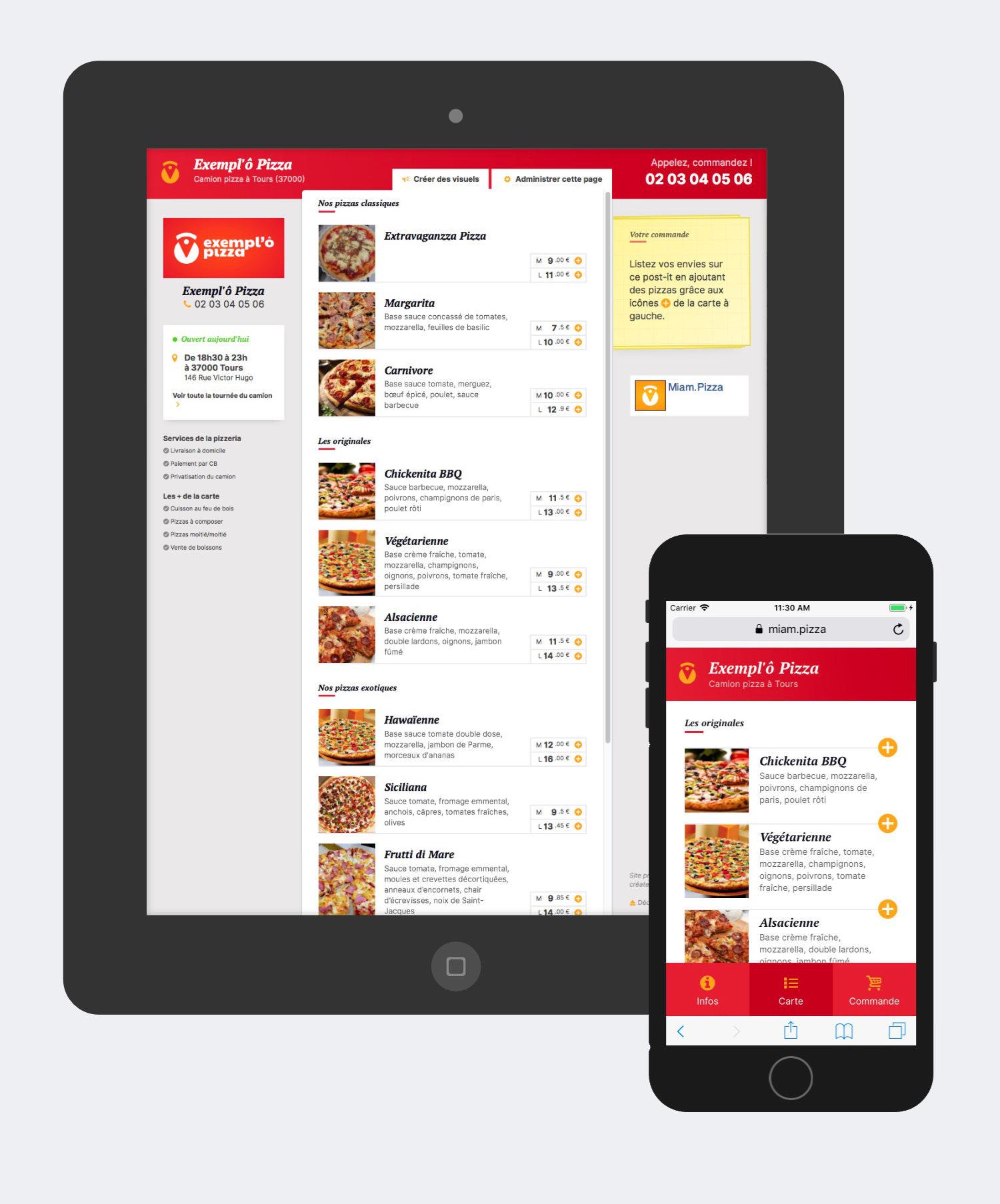 Miam.Pizza, site gratuit pour les pizzaiolos connectés
