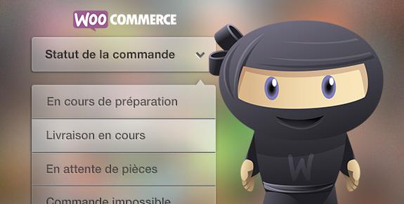 Ajouter des statuts de commandes WooCommerce